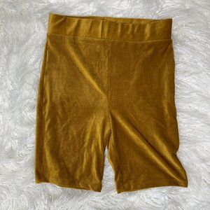 Forever 21 - Corduroy Biker Shorts